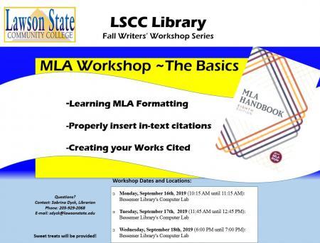 MLA8 Workshop Library Bessemer